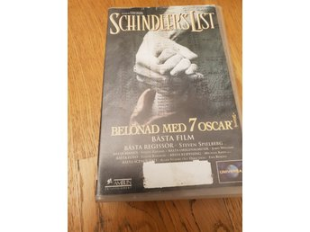 VHS: Schindlers list