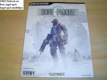 GUIDE WALKTHROUGH LOST PLANET BRADY GAMES XBOX 360 *NYTT*