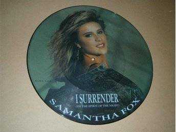 Samantha Fox - I Surrender (To The Spirit Of The Night) UK-87 (Picture Disc)