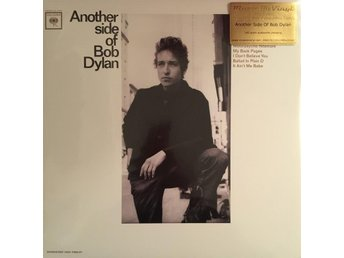 BOB DYLAN - ANOTHER SIDE OF BOB DYLAN NY 180G LP MONO - Stockholm - BOB DYLAN - ANOTHER SIDE OF BOB DYLAN NY 180G LP MONO - Stockholm