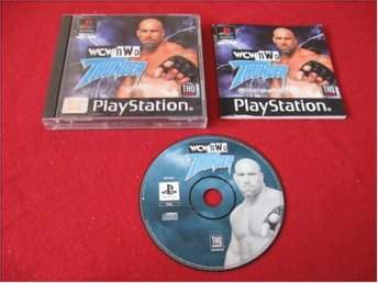 WCW NWO THUNDER till Sony Playstation PSone
