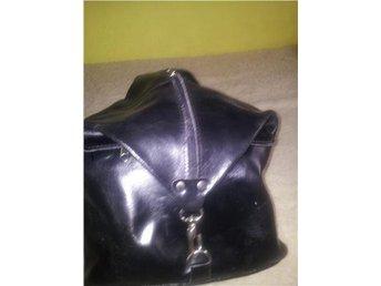 Läder Skinn Handbag Väska Ryggsäck NYSKICK - Brömmena - Läder Skinn Handbag Väska Ryggsäck NYSKICK - Brömmena