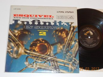 ESQUIVEL - Infinity in sound Vol 2, LP RCA Living Stereo USA 1961