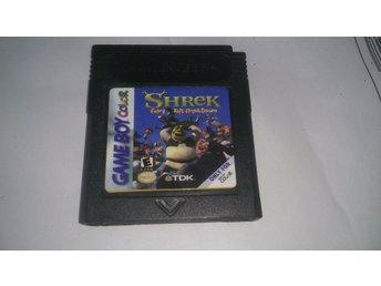Shrek Fairy Tale Freakdown Till GameBoy Color - Kiruna - Shrek Fairy Tale Freakdown Till GameBoy Color - Kiruna