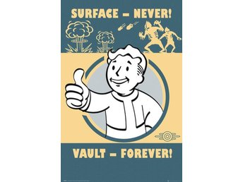 Poster (61x91 cm) - Spel - Fallout 4 Vault Forever (FP4149)