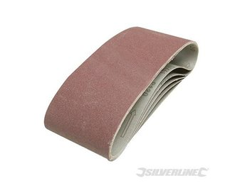 Replacement Sanding Belts 100mm x 610mm 5pk Belt Sander Power tools 40 grit