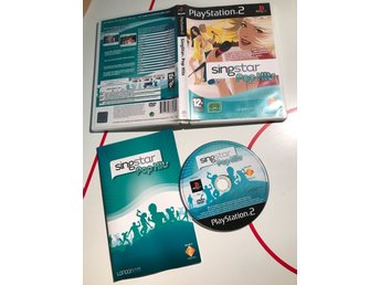 Singstar Pop Hits PlayStation 2 PS2 spel Svensksåld