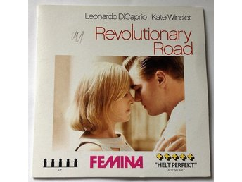 Di Caprio & Winslet: Revolutionary road (fri frakt)