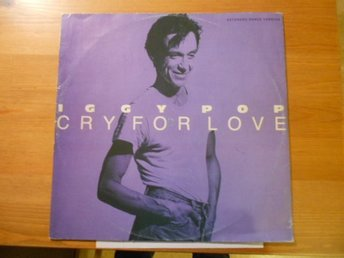 IGGY POP: CRY FOR LOVE-MAXISINGEL.