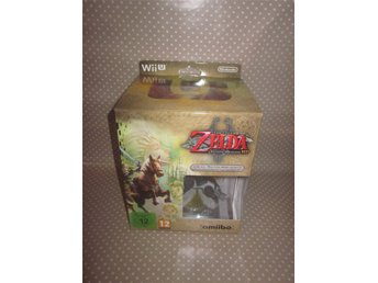Zelda: Twilight Princess HD Collector's Edition till Nintendo Wii U - NYTT!