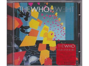 THE WHO: Endless Wire 2006 Limited Edition CD Pete Townshend