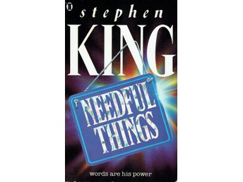 Stephen King - Needful things (På engelska)