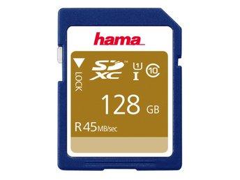 HAMA SDXC 45MB/s Class 10, 128GB - Kalmar - HAMA SDXC 45MB/s Class 10, 128GB - Kalmar