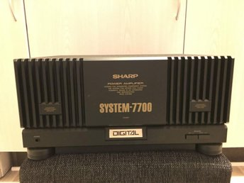 Sharp power amplifier system-7700