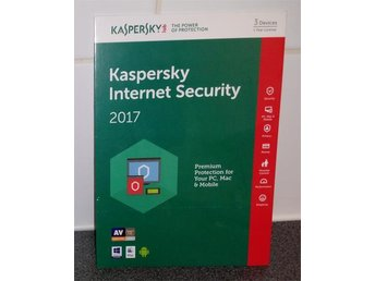 Kaspersky Internet Security 2017 Multi Device, 3 PC, 1 År