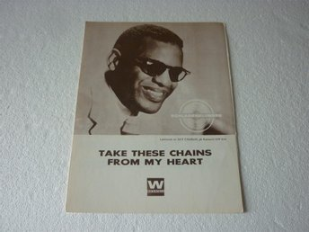 Notblad Nothäfte fr.1962 Ray Charles - Take These Chains ...