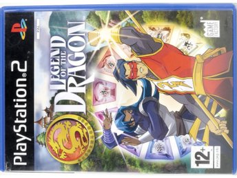 Legend of the Dragon - PS2 - PAL (EU)
