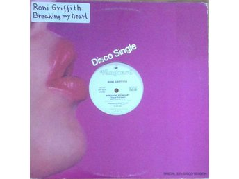 Roni Griffith  titel*Breaking My Heart* Electronic Disco US Promo 12 Inch
