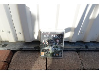 Playstation 3 PS3 INJUSTICE gods among us