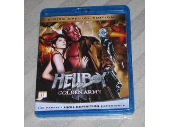 Hellboy II - The Golden Army - Svensk Text (Blu Ray) Bluray 2-Disc Pans Labyrint
