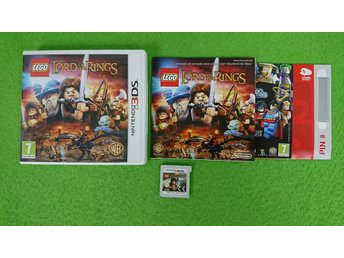 Lego Lord of the Rings KOMPLETT Nintendo 3DS