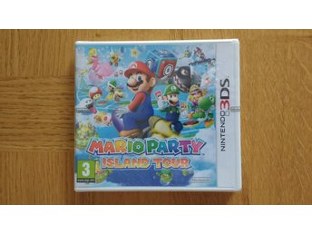 Nintendo 3DS: Mario Party Island Tour (fabriksinplastat)