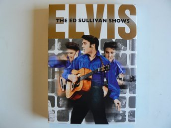 ELVIS PRESLEY - The Ed Sullivan Shows Tre DVD  1956 DVD Box