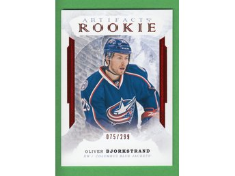 2016-17 Artifacts Rookie /299 #169 Oliver Björkstrand Columbus Blue Jackets