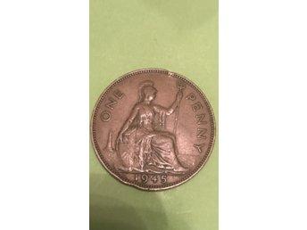 One penny(1945) (342391037) ᐈ Köp på Tradera