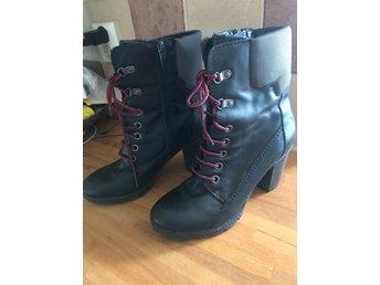 Prickig peeptoe sko stlk 39 (353484193) ᐈ Köp på Tradera