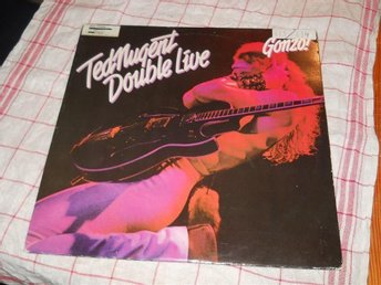 TED NUGENT--Gonzo double live.    2 LP