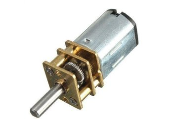 6V 60RPM Geared Motor