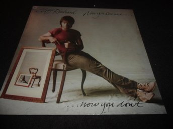 Cliff Richards - Now you see me, now you don´t - LP - 1982