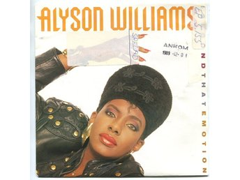 "Alyson Williams -I second that emotion (2 vers) 7"" 1989"