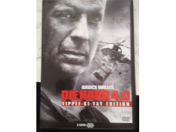 DVD: DIE HARD 4,0 Med Bruce Willis 2 disc.