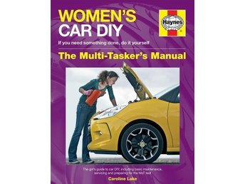 Women's Car DIY Manual - helt ny!
