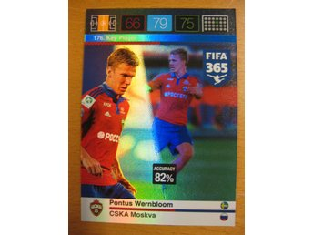 KEY PLAYER - PONTUS WERNBLOOM - CSKA MOSKVA - ADRENALYN - FIFA 365