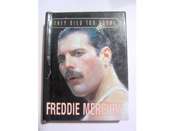 "Freddie Mercury minibok ""they die too young"" parragon  74 sidor av Simon Boyce"
