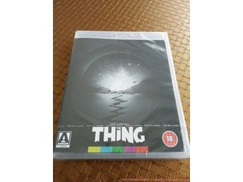 THE THING (1982) Special Edition ARROW (John Carpenter Kurt Russell) Grym utgåva