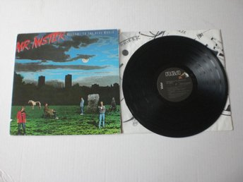 MR MISTER-WELCOME TO THE REAL WORLD 1985. EX/EX