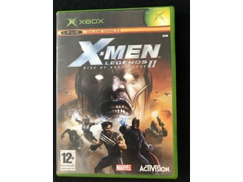 Xbox X-men lengends 2 rise of apocalypse