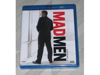 Mad Men - Säsong 4 - Svensk Text (Blu Ray) 3-Disc - Jon Hamm - January Jones