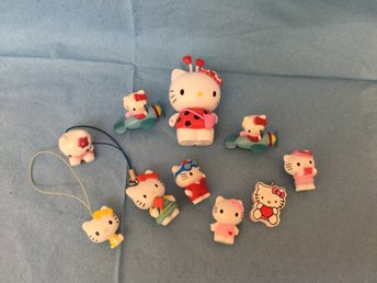Hello Kitty mini figurer mobilsmycke sanrio