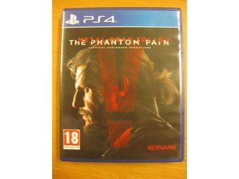 METAL GEAR SOLID V (5) THE PHANTOM PAIN - PS4 SPEL I MYCKET BRA SKICK