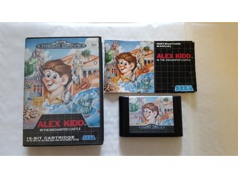 Alex Kidd in the Enchanted Castle - Begagnad Sega MegaDrive - Komplett