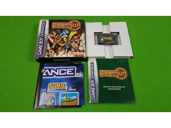 Golden Sun KOMPLETT Gameboy Advance Nintendo GBA