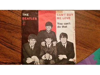 Beatles,single,Denmark,cant buy me love