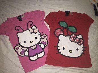 Hello Kitty T-shirts i strl 110/116 - Upplands Väsby - Hello Kitty T-shirts i strl 110/116 - Upplands Väsby
