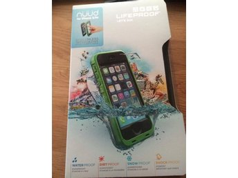 LifeProof Nüüd Case (iPhone 5/5S/SE) - nytt, oanvänd - original