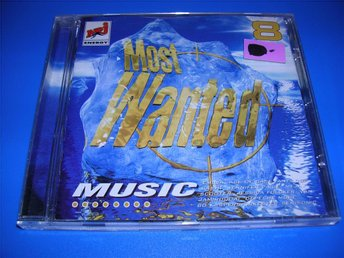 MOST WANTED MUSIC 8 - emilia,antiloop,ace of base, (cd)
